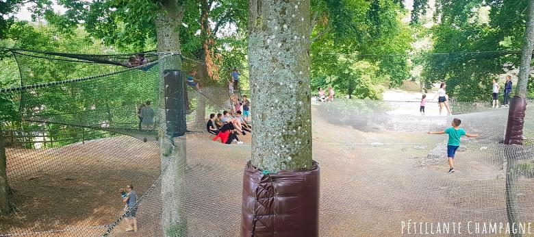 Filets dans les arbres - Château-Thierry