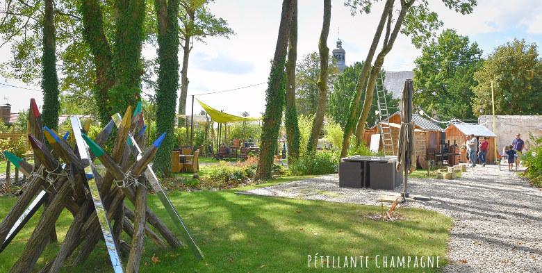 La Soif - dans le Jardin des Saveurs en face de l'abbaye d'Hautvillers, rue de l'église