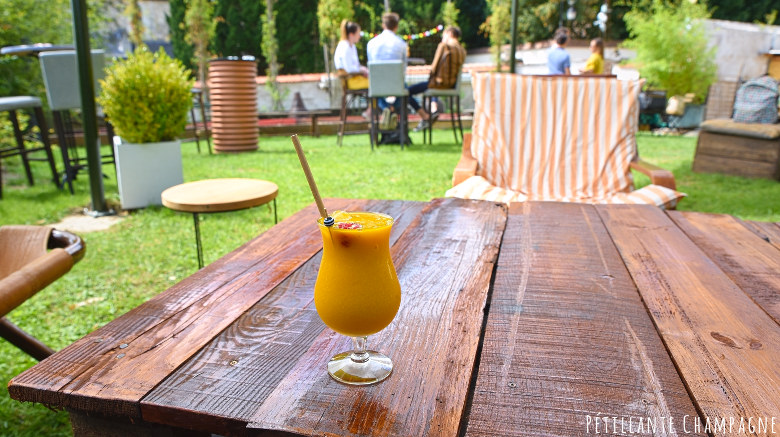 Cocktail à la mangue - La Soif - Hautvillers