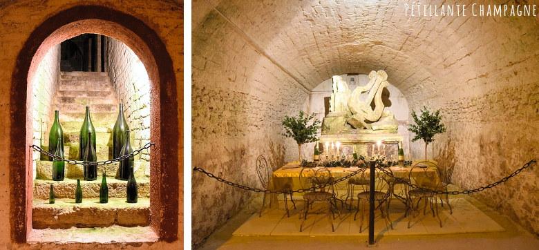 Canard-Duchêne caves et bouteilles