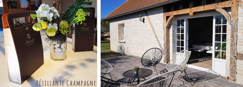 Champagne Richardot Terrasse