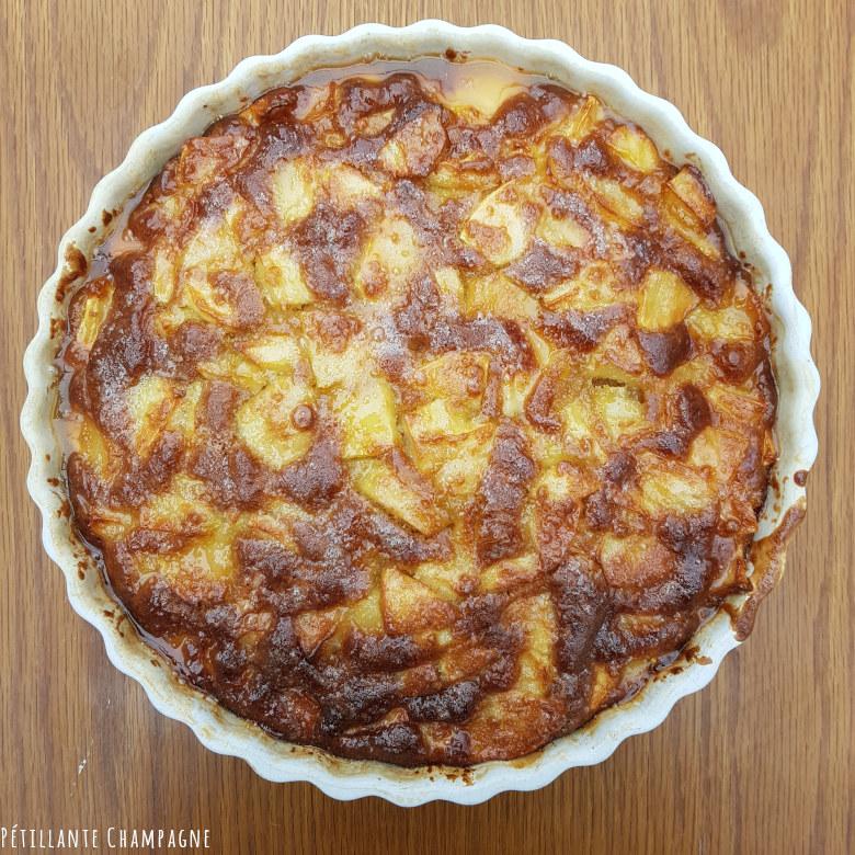 Gâteau aux pommes au Ratafia Champenois