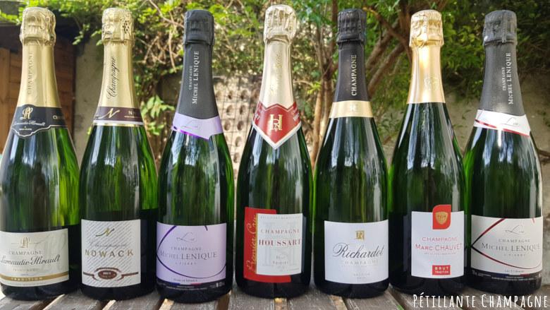 Champagne Brut mariage sélection