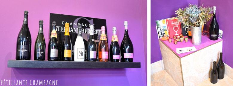les cuvées de champagne Stéphane Herbert