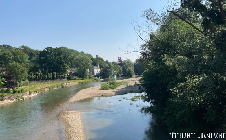 Vitry en Perthois rivière Saulx